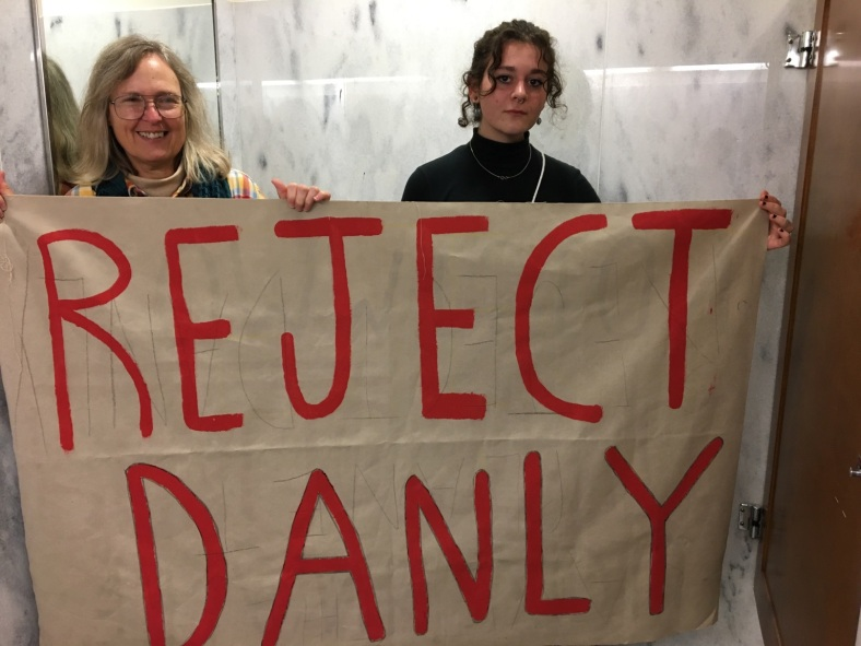 Reject Danly Banner